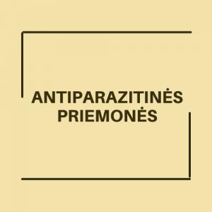 Antiparazitinės priemonės
