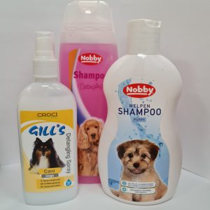 Šampūnai, kondicionieriai šunims